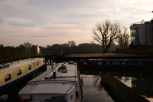 Brentford Lock and Canal (December 2018)