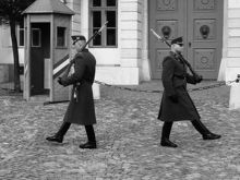 Presidential Palace Guards, <br />Budapest