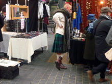 Stall Holder, Spitalfield Market