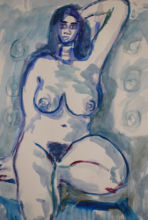 Seated Figure, 2015